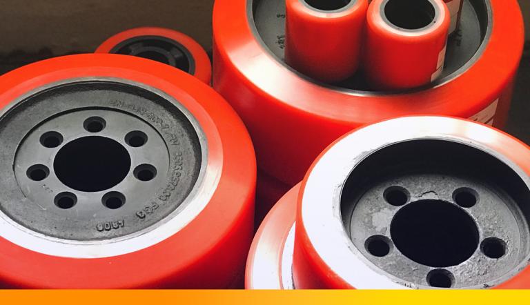 Troca frequente das rodas para empilhadeiras elétricas: suas compras estão sendo assertivas?